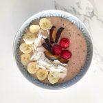 Tropical Vegan Smoothie Bowl recipe