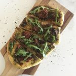 Homemade vegan pizza recipe